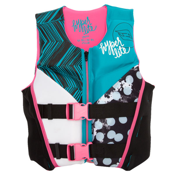 Hyperlite Girls Indy Vest Large (50lbs to 90lbs)