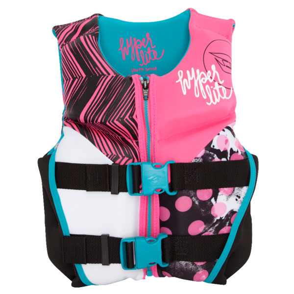 Hyperlite Girls Indy Vest Small (50lbs-75lbs)