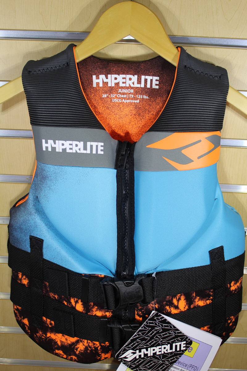 19 Hyperlite Jr. Indy Vest (75-125lbs)