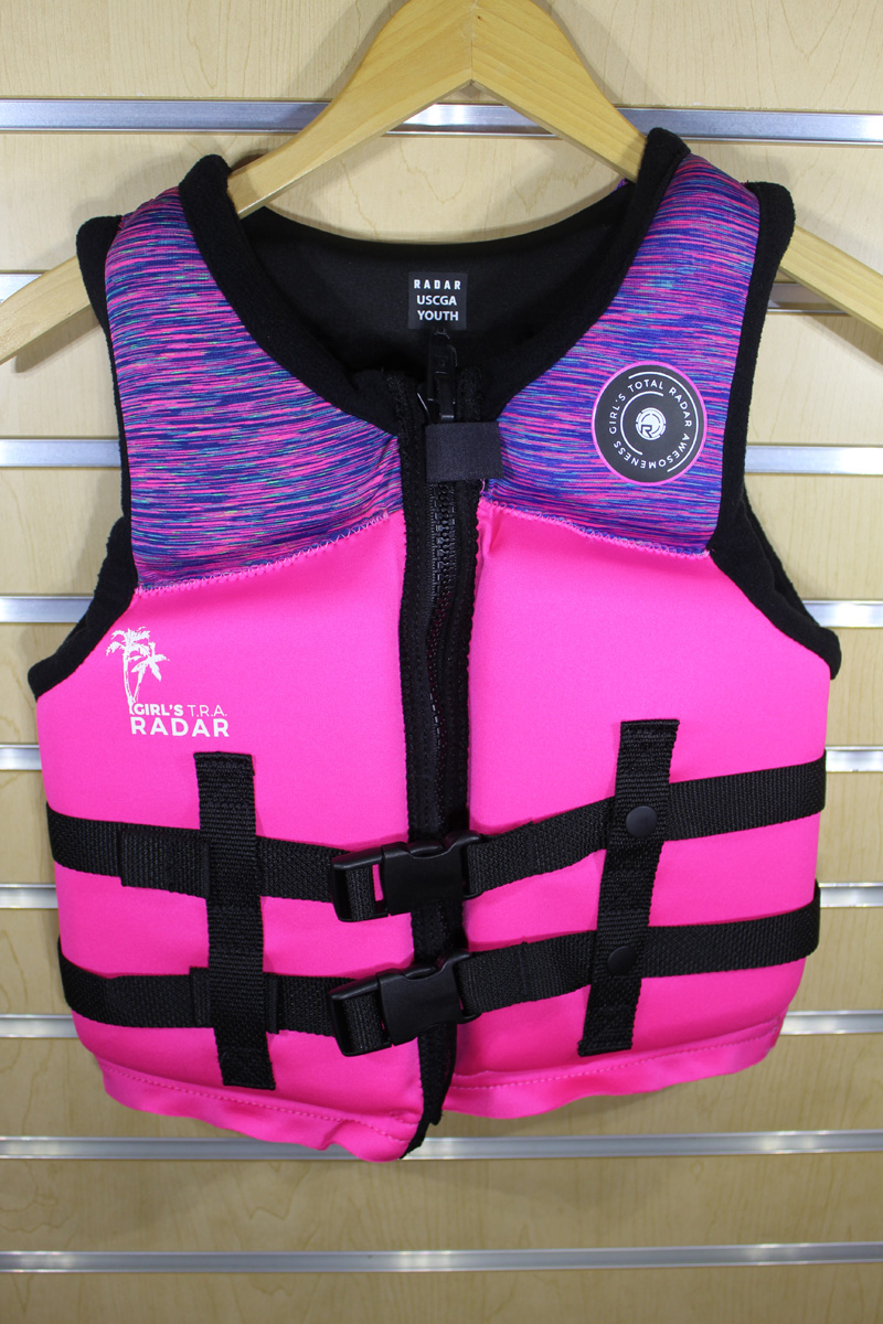 19 Radar TRA Girls Vest (50-90lbs)