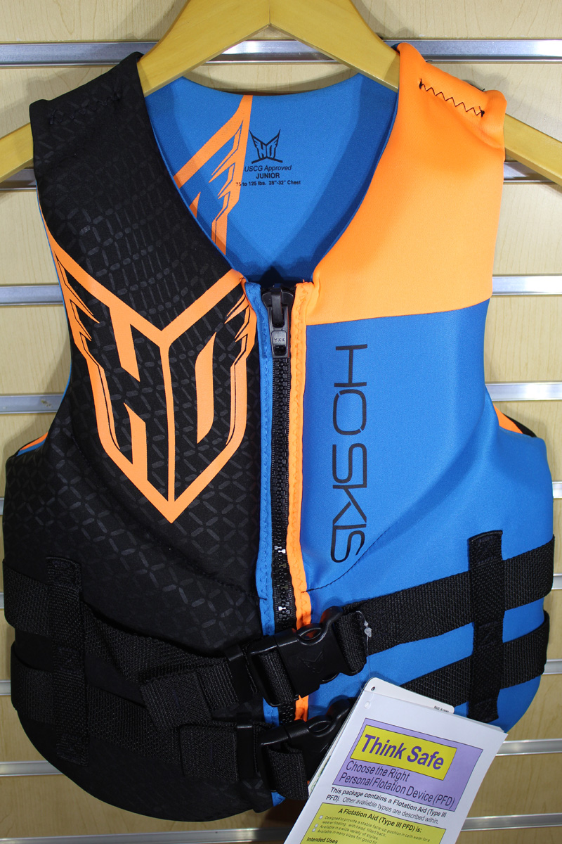 19 HO Jr. Pursuit Neo Vest (75-125lbs)