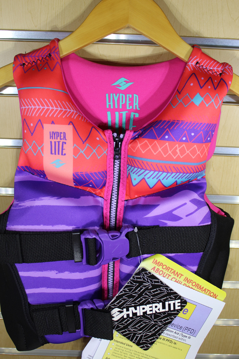 19 Hyperlite Girls Youth Indy Vest