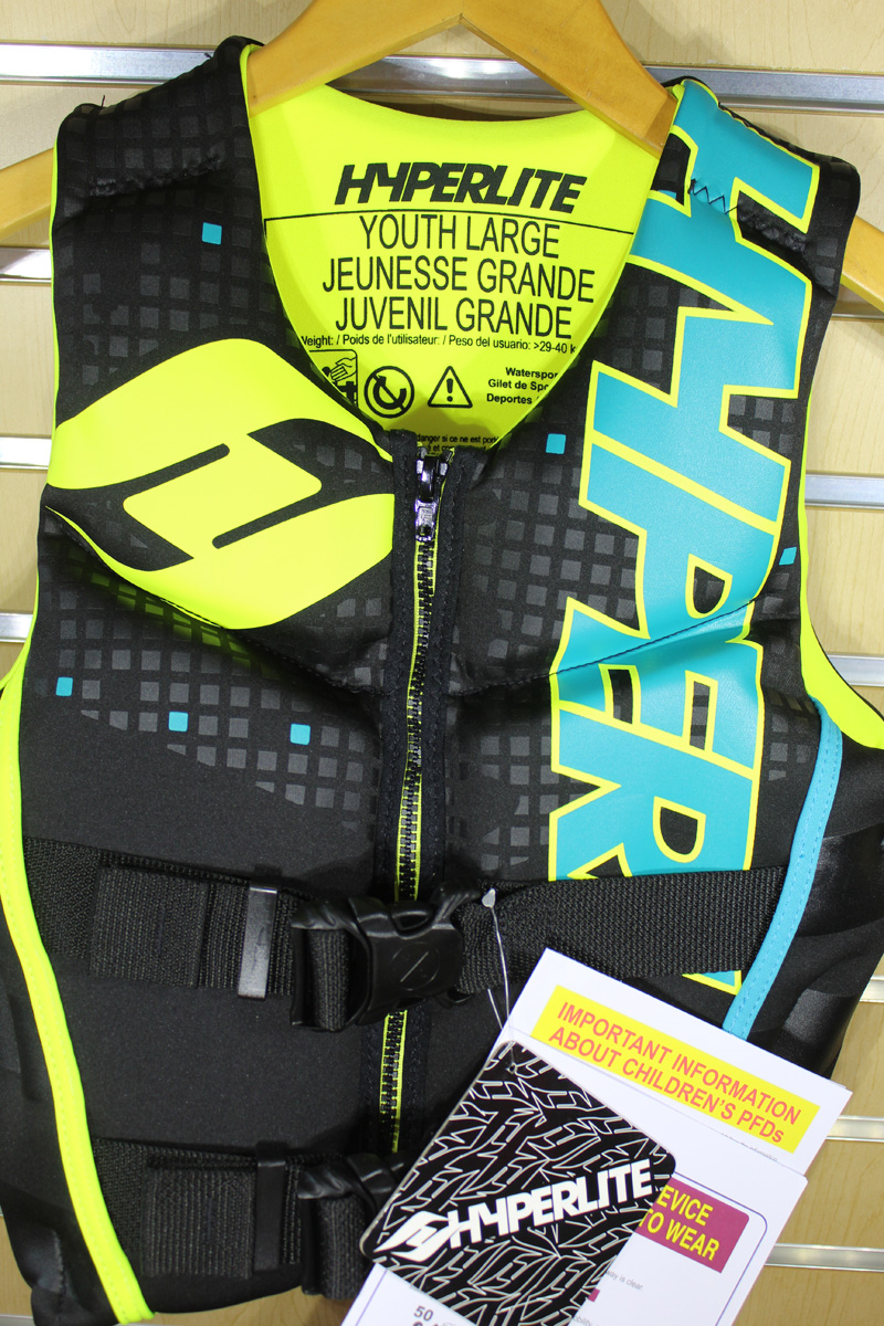 19 Hyperlite Youth Indy Vest
