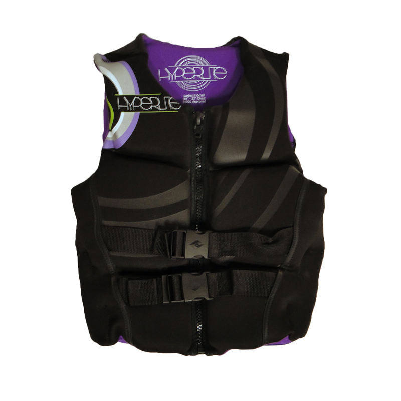 "Hyperlite Womens Ambition Neo Vest-Purple (Women HO Vest Size: XL (44""-48"" Chest))"