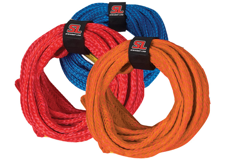Straightline 3 Person Tube Ropes (Straightline Tube Rope Color: Red)